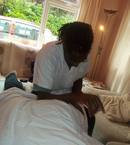 David B James Tuina Massage in London